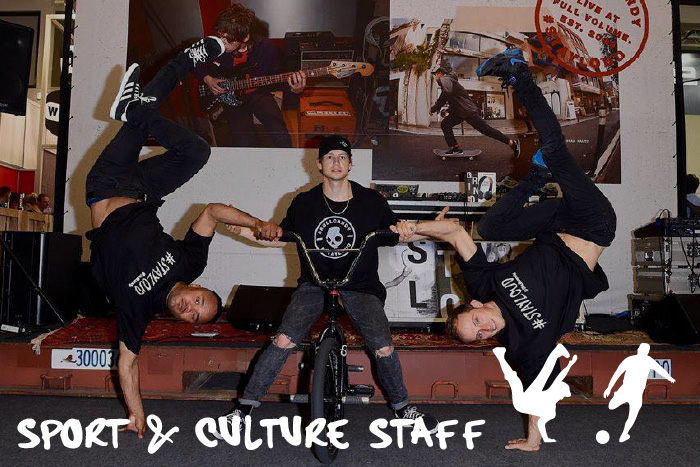 Sport & Culture Staff Afrodeutsch Advertsing