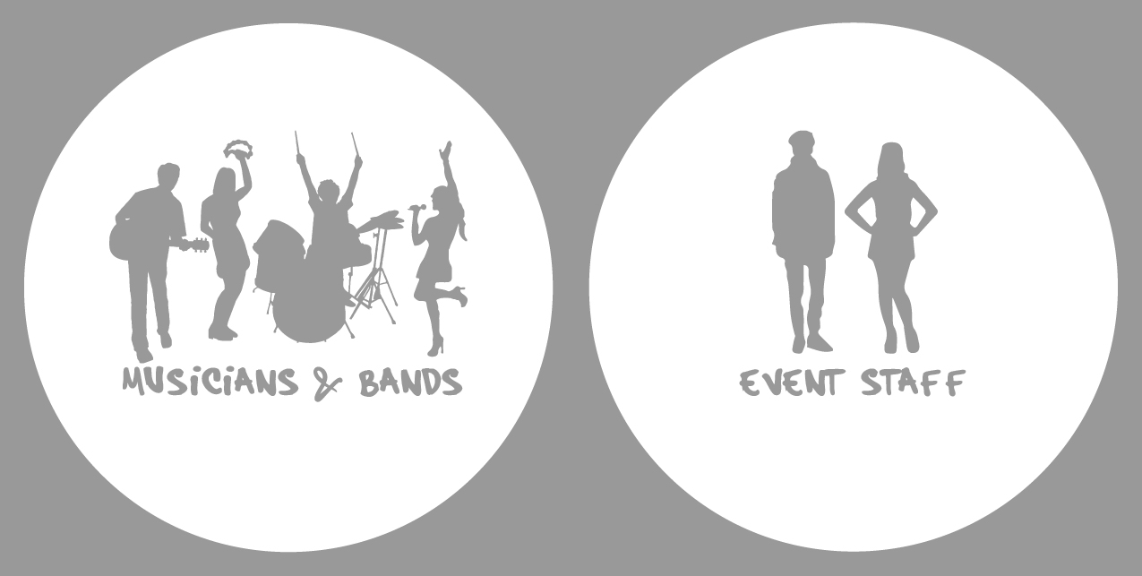 Musicans, Bands & Event Staff